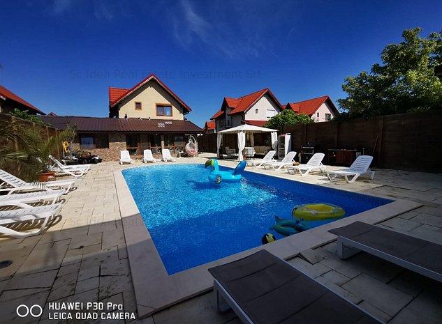 Casa Ultralux cu piscina P+M Dumbravita zona padure!! - imaginea 1
