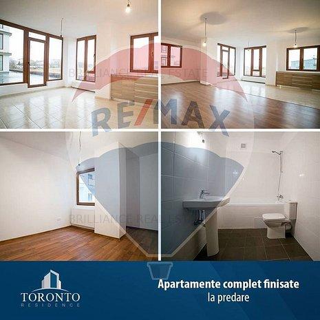 Apartament spatios cu 2 camere, geamuri mari - imaginea 1