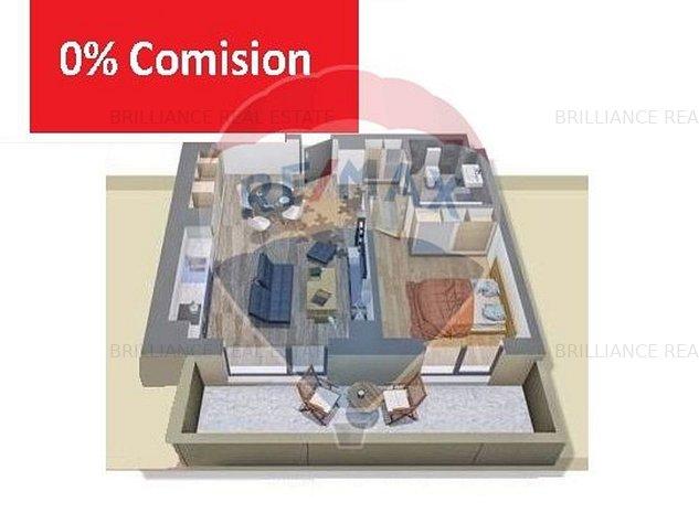 Apartament cu 2 camere langa cladirea VOX calea Torontalului - imaginea 1
