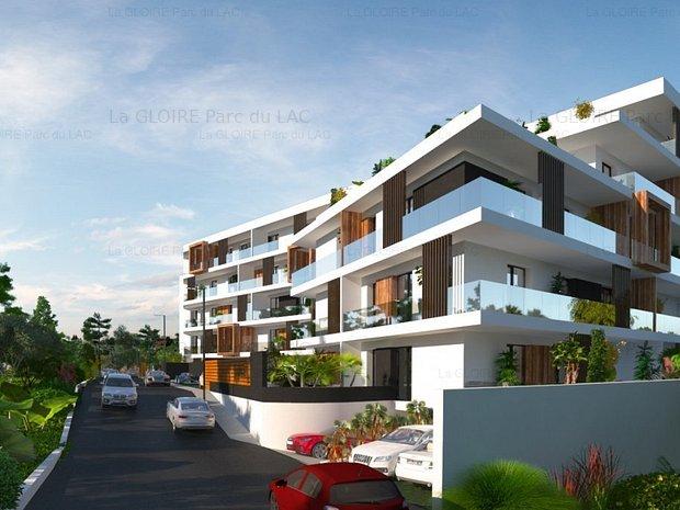 Apartament 3 camere Baneasa-Pipera, pe malul lacului - imaginea 1