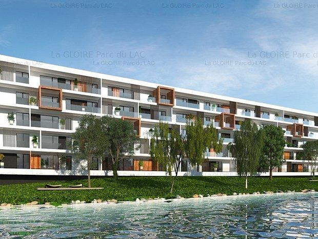 3 camere, intimitate, spații voluptuoase, Băneasa, pe malul lacului - imaginea 1