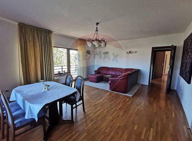 Apartament 3 camere 100mp cu terasa si gradina langa Padurea Rosu - imaginea 1