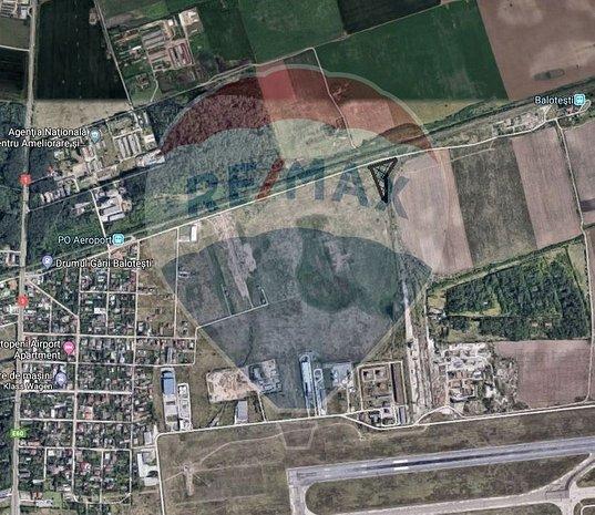 Otopeni - Ferme, teren intravilan, 5000 mp, Ideal investitie - imaginea 1