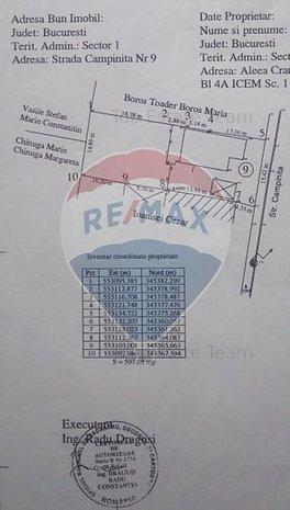 Comision 0% Teren 600 mp/ 15 ml in zona Baneasa- Apicultorilor - imaginea 1