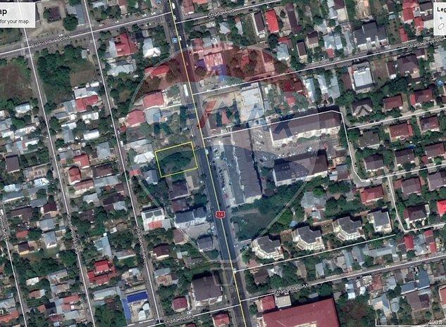 Oportunitate! Teren 1096 mp, zona Straulesti-Bucuresti-Targoviste - imaginea 1