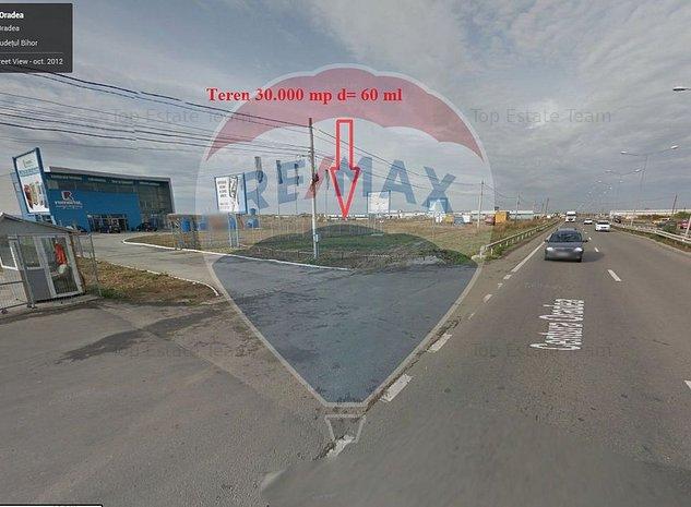 ORADEA,30.000 mp teren, Calea Santandrei- Locatie Retail/Reprezentanta - imaginea 1