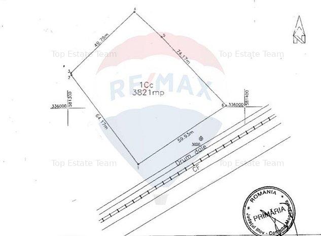 Teren 3821mp Mogosoaia - zona industriala - imaginea 1