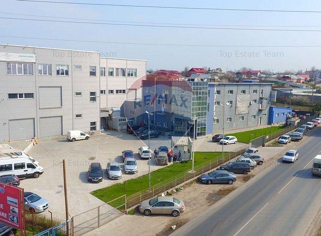 Hala de productie si birouri + teren - imaginea 1