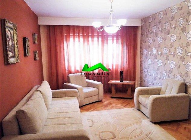 Apartament 3 camere,2 bai,etaj 1,garaj,2 locuri de parcare,Valea Aurie - imaginea 1
