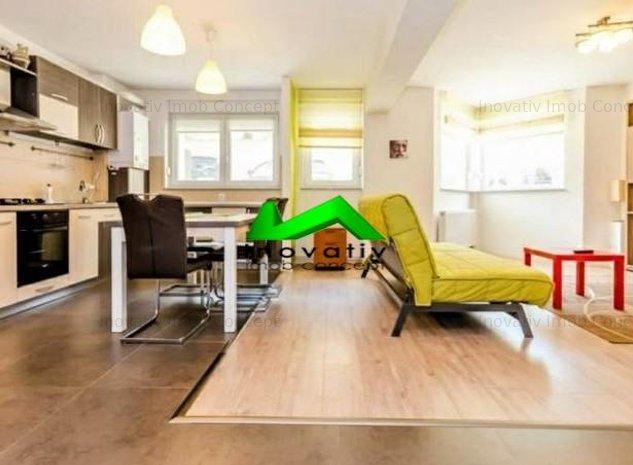 Apartament 3 camere,mobilat,utilat,parcare,Padurea Dumbrava - imaginea 1