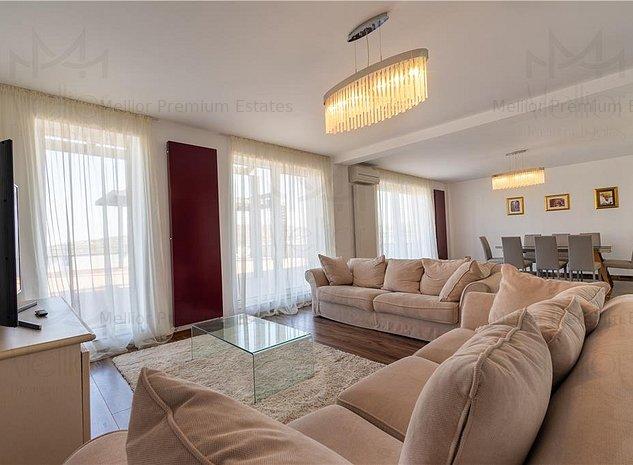 Penthouse superb cu 4 camere + terasa 180 mp in Borhanci - imaginea 1