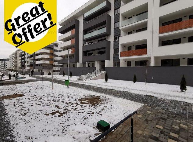 ✅ Apartament 2 camere, 53 mp, etaj intermediar, bloc 2019, cart Europa! - imaginea 1