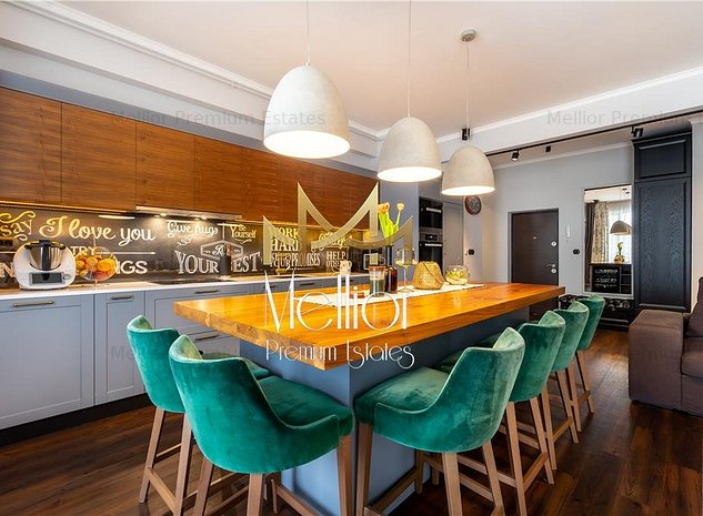 ✅ Apartament exclusivist cu 3 camerre | Lux | terasa | zona Centrala! - imaginea 1