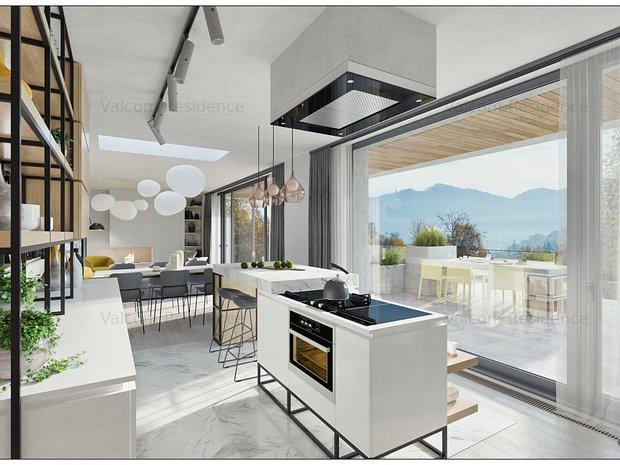 Penthouse, Proiect Rezidential Stejeris, Priveliste Deosebita - imaginea 1