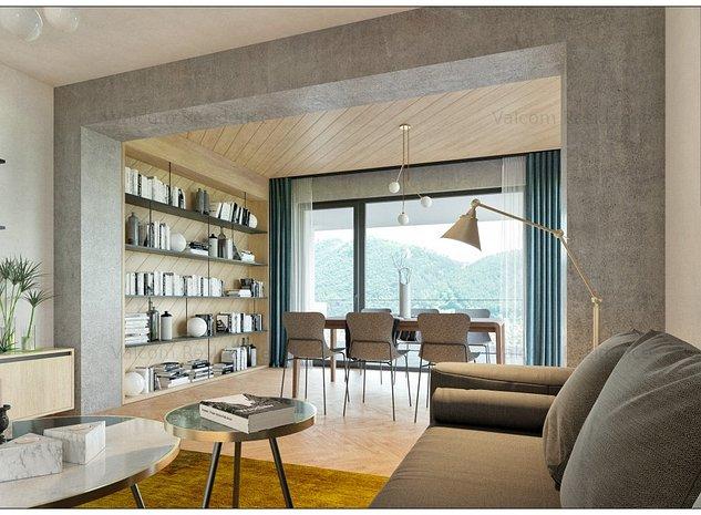 Apartament 3 Camere, Proiect Rezidential Stejeris, Priveliste Deosebita - imaginea 1