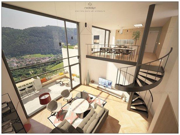 Loft 4 Camere, Proiect Rezidential Stejeris, Compozitie Speciala - imaginea 1