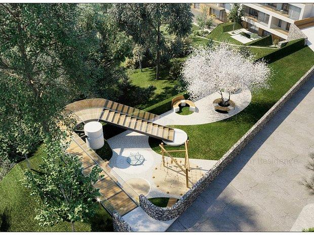 Apartament 4 Camere, Gradina Proprie, Proiect Rezidential Stejeris - imaginea 1