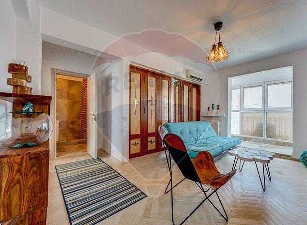 Apartament 3 camere Calea Victoriei, renovat LUX, mobilier Spania - imaginea 1