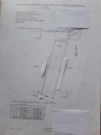 Trapezului - Drum Lunca Prutului, intravilan S = 2700 mp/ d= 23,7 m - imaginea 1
