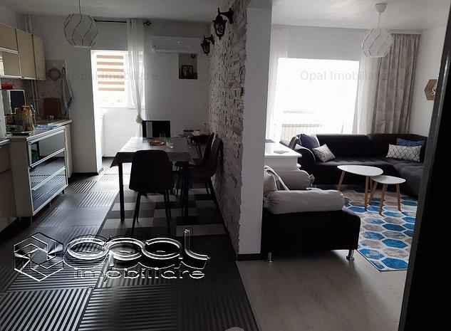 Soveja, apartament 3 camere,3 balcoane, 74mp,mobilat-utilat, centrala gaz - imaginea 1