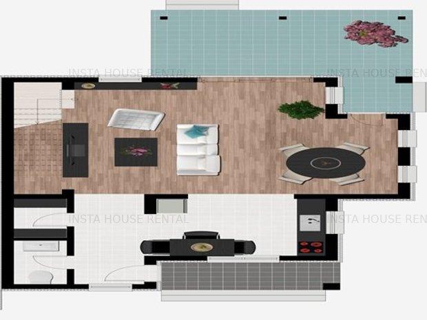 Duplex in vila Mogosoaia OCAZIE COMISION 0 - imaginea 2