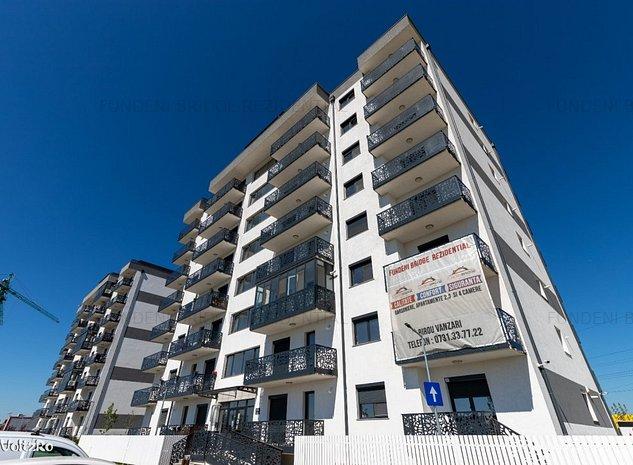 Apartament 3 camere 81 mp,incalzire in pardoseala, finisat la cheie,Fundeni - imaginea 1