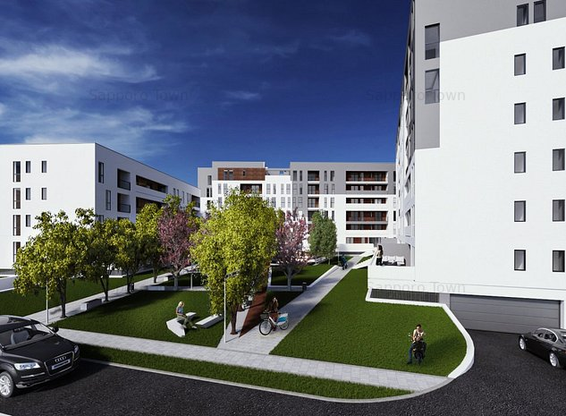 Apartament nou de 3 camere, Sapporo Town, langa British International School - imaginea 1