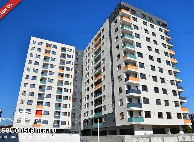 Apartamente la cheie în bloc finalizat - Metropolitan Towers - imaginea 1