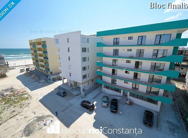 #Apartament 3 camere 76m² utili + terasă 42m² - 50m față de plajă, Mamaia Nord - imaginea 1