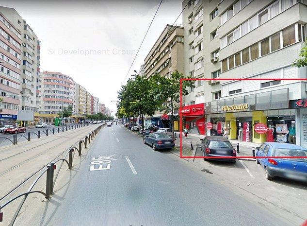 Spatiu comercial stradal - Vitrina / Calea Mosilor - Disponibil imediat - imaginea 1