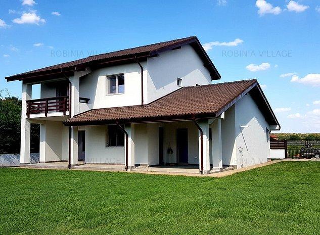 Vila de vânzare - Robinia Village Corbeanca - lângă pădure - imaginea 1