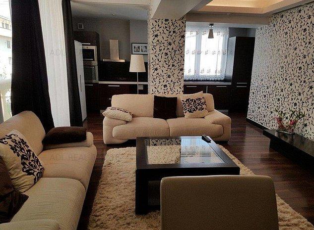 Inchiriere Apartament 3 camere Zona Herastrau - imaginea 1