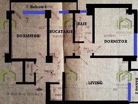 Apartament de vânzare 3 camere în Buzau, Balcescu