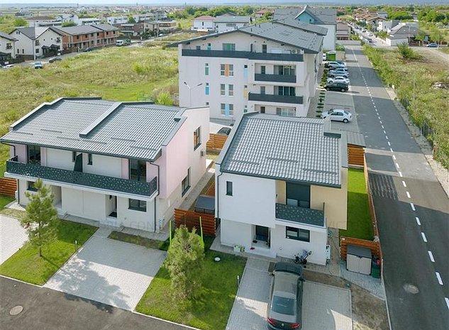 Vila la cheie, 3 camere, Otopeni, posibilitate recompartimentare in 4 camere - imaginea 1