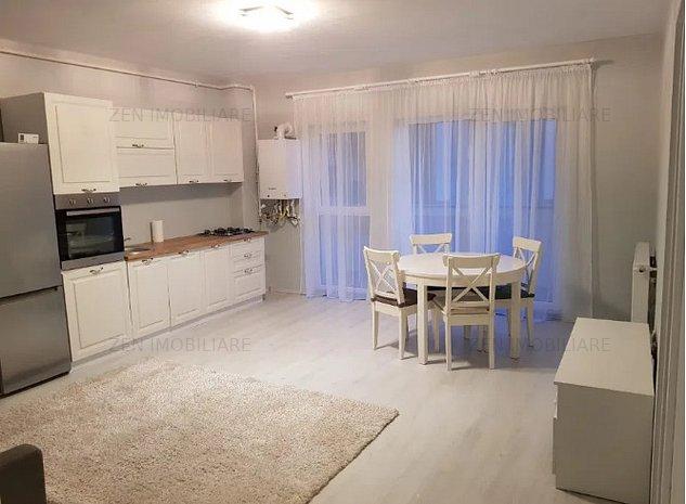 Apartament 2 camere NOU, 60,5mp util, garaj subteran, zona Kaufland Marasti - imaginea 1