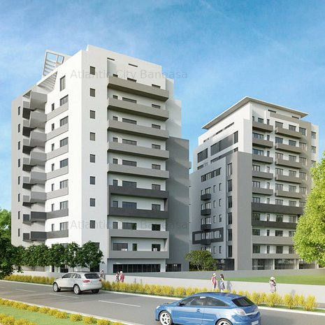 Apartament 3 camere, proiect Atlantic City, Ionescu Sisesti 98C - imaginea 1