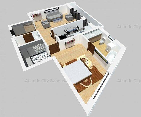 Apartament 2 camere Atlantic City - imaginea 1