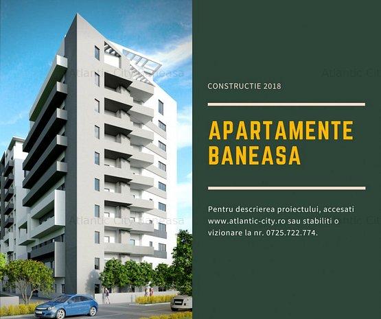 Apartament 3 camere Atlantic City Baneasa reper Ionescu Sisesti - imaginea 1