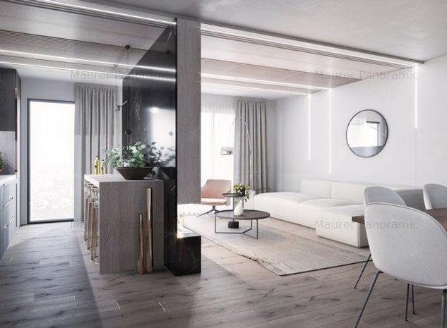 Apartament 3 camere, tip 3C, ultrafinisat, etaj 4, zona central - imaginea 1