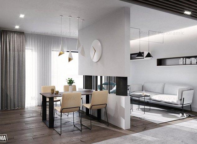 Apartament 2 camere, tip 2B, ultrafinisat, etaj 1, zona centrala - imaginea 1