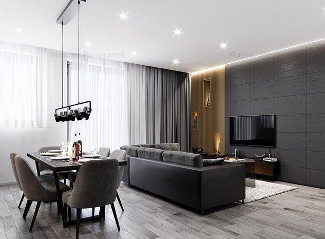 Apartament 4 camere, tip 4A, ultrafinisat, etaj 3, zona centrala - imaginea 1