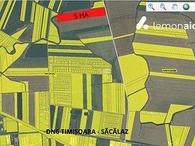 Teren agricol de vânzare, în Săcălaz