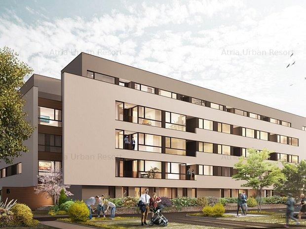 Apt. 130 - 2 camere P+4, Asamblu, direct dezvoltator, Parc interior, piscina - imaginea 2