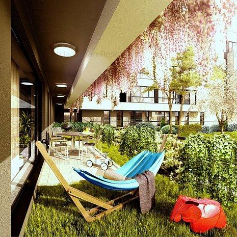 Apt. 113 - 2 Camere, P+4, Lift, Parc interior, Piscina, 12 Minute Piata Presei - imaginea 1