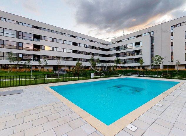 Apartament 2 Camere cu Gradina si Terasa Proprie de 23mp, 10 min Pt Presei - imaginea 1