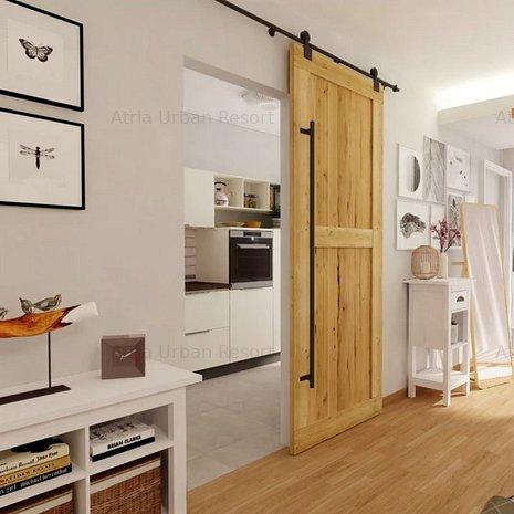 Studio Sector 1 Lac Straulesti-Chitila 48 mp utili +balcon 10mp utili - imaginea 1