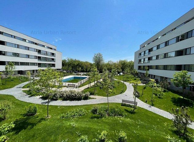 Studio cu spatii utile mari + balcon de 11mp utili Sector 1-Lacul Straulesti - imaginea 1