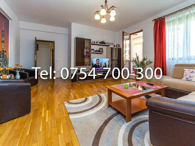 3 camere 130 mp, 3 Balcoane si 2 Grupuri sanitare Mobilat+ Utilat - imaginea 2