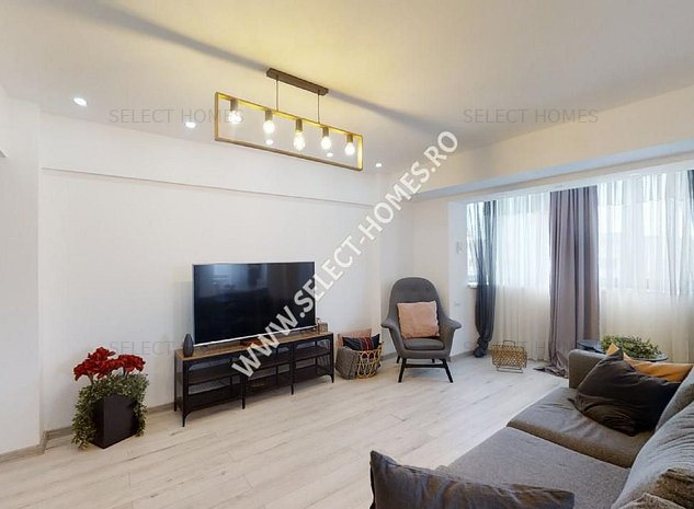 Apartament de Inchiriat 4 camere *I.C. Bratianu* Tur Virtual - imaginea 1