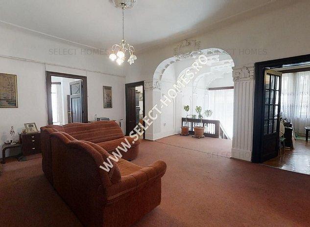Casa de vanzare 7 camere *Cotroceni* Tur Virtual - imaginea 1